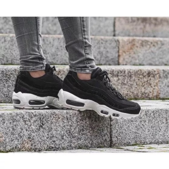 5855763600651 Women s Nike Air Max 95 LX Black Sneakers